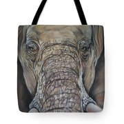 Echo Of The Elephants  Tote Bag