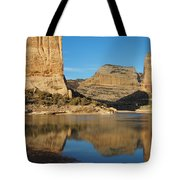 Echo Park In Dinosaur National Monument Tote Bag