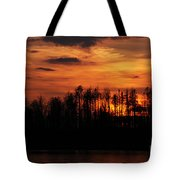 Echoes Of The Fire Tote Bag