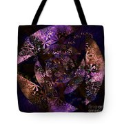 Echoes Through The Night Veil  Tote Bag