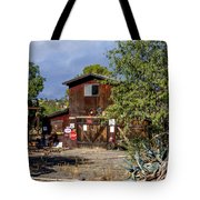Eclecktic Building Signs Tote Bag