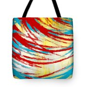 Eclectic Rays  Tote Bag