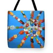 Eclectic Sun Tote Bag