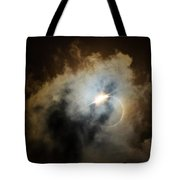 Eclipse Diamond Ring Tote Bag