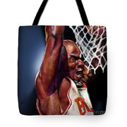 Eclipsing The Moon - Jordan  Tote Bag