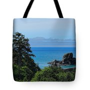 Ecola State Park Overlook  Tote Bag