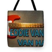 Eddie Van Halen Guitar Tote Bag