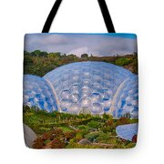 Eden Project Biomes Tote Bag