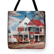 Edgar Home Tote Bag