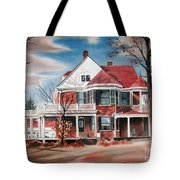 Edgar Home Tote Bag by Kip DeVore