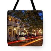 Edgartown Nightlife Tote Bag