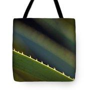 Edge Of A Sotol Leaf Tote Bag