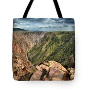 Edge Of The Black Canyon Tote Bag