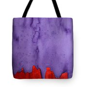 Edge Of The West Original Painting Tote Bag