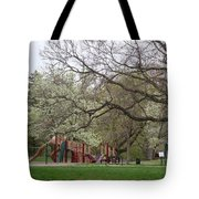 Edgewood Park New Haven Connecticut Tote Bag