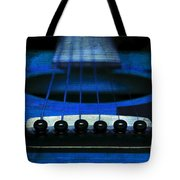 Edgy Abstract Eclectic Guitar 18 Tote Bag by Andee Design