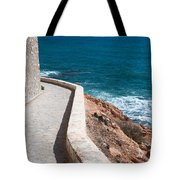 Edgy Pathway Tote Bag