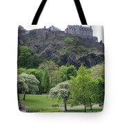 Edinburgh Castle 6493 Tote Bag