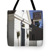 Edinburgh Castle Tavern Tote Bag