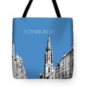 Edinburgh Skyline The Royal Mile - Slate Tote Bag