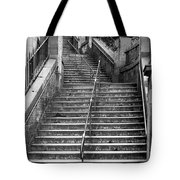 Edinburgh Steps Tote Bag