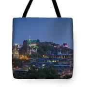Edinburgh Twilight Tote Bag
