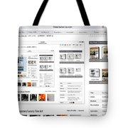 Visitors Hi Edit Keyword Search Untitled Tote Bag