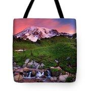 Edith Creek Sunrise Tote Bag