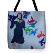 Edith Piaf  The Little Sparrow Tote Bag