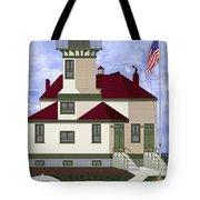Ediz Hook Historical View Redux 2013 Tote Bag