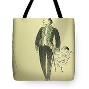 Edmond Rostand (1868-1918) Tote Bag