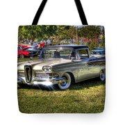 Edsel Ranchero Tote Bag