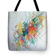 Education 1 Tote Bag by David Baruch Wolk