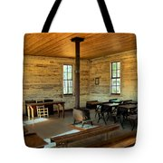 Education Of The Past Tote Bag