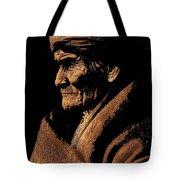 Edward S. Curtis Photograph Of Geronimo Carlisle Pennsylvania 1905-2013 Tote Bag