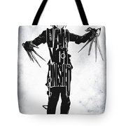 Edward Scissorhands - Johnny Depp Tote Bag