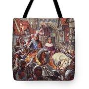 Edward V Rides Into London With Duke Tote Bag