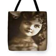 Edwardian Young Girl Tote Bag