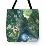 Eel Waiting To Snatch Something For Lunch Tote Bag