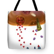 Effect Of Heroin On Neurons Tote Bag