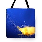 Egg - Yolk Jellyfish Tote Bag