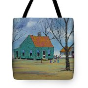 Egg Farm Tote Bag