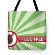 Egg Free Banner Tote Bag