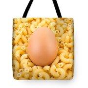 Egg On Macaroni Tote Bag