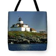Egg Rock Lighthouse Tote Bag by Kathleen Struckle