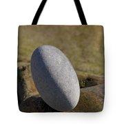 Egg-shaped Stone Tote Bag