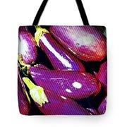 Eggplants Are Beautiful Works Of Art Tote Bag