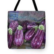 Eggplants Tote Bag