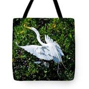 Egret 1 Tote Bag