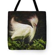 Egret 12 Tote Bag